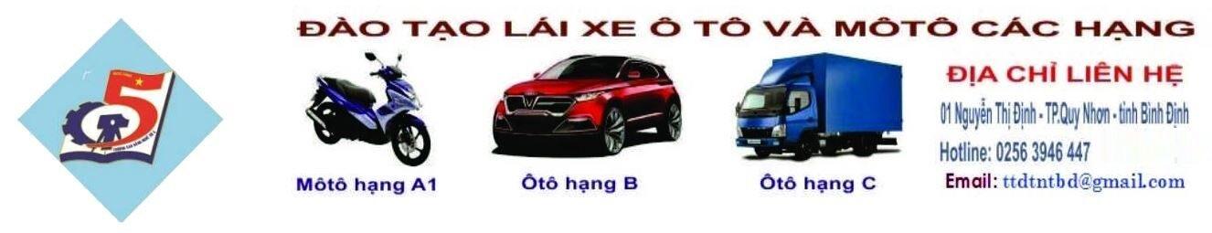 Học Lái Xe Bình Định
